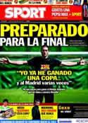 Portada diario Sport del 19 de Abril de 2011
