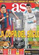 Portada diario AS del 20 de Abril de 2011