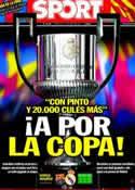 Portada diario Sport del 20 de Abril de 2011