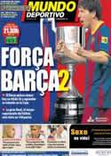 Portada Mundo Deportivo del 20 de Abril de 2011