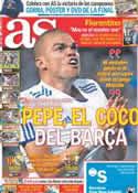 Portada diario AS del 22 de Abril de 2011