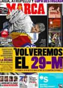 Portada diario Marca del 22 de Abril de 2011