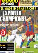 Portada Mundo Deportivo del 22 de Abril de 2011