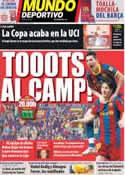 Portada Mundo Deportivo del 23 de Abril de 2011