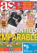 Portada diario AS del 24 de Abril de 2011