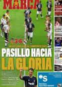 Portada diario Marca del 24 de Abril de 2011