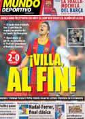Portada Mundo Deportivo del 24 de Abril de 2011