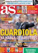 Portada diario AS del 25 de Abril de 2011
