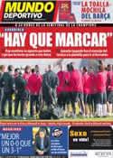 Portada Mundo Deportivo del 26 de Abril de 2011