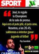 Portada diario Sport del 27 de Abril de 2011
