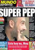 Portada Mundo Deportivo del 27 de Abril de 2011