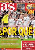 Portada diario AS del 28 de Abril de 2011