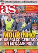 Portada diario AS del 29 de Abril de 2011