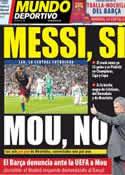 Portada Mundo Deportivo del 29 de Abril de 2011