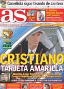 Portada diario AS del 30 de Abril de 2011