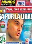 Portada Mundo Deportivo del 30 de Abril de 2011