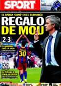 Portada diario Sport del 1 de Mayo de 2011