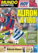 Portada Mundo Deportivo del 1 de Mayo de 2011