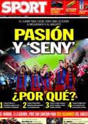 Portada diario Sport del 2 de Mayo de 2011