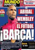 Portada Mundo Deportivo del 3 de Mayo de 2011