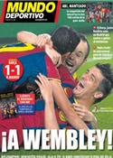 Portada Mundo Deportivo del 4 de Mayo de 2011