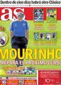 Portada diario AS del 5 de Mayo de 2011