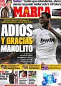 Portada diario Marca del 5 de Mayo de 2011