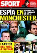 Portada diario Sport del 5 de Mayo de 2011