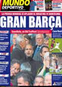 Portada Mundo Deportivo del 5 de Mayo de 2011