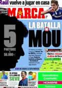 Portada diario Marca del 7 de Mayo de 2011