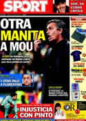 Portada diario Sport del 7 de Mayo de 2011