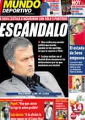 Portada Mundo Deportivo del 7 de Mayo de 2011