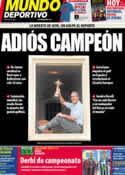 Portada Mundo Deportivo del 8 de Mayo de 2011