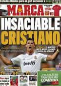 Portada diario Marca del 9 de Mayo de 2011