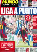 Portada Mundo Deportivo del 9 de Mayo de 2011