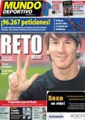 Portada Mundo Deportivo del 10 de Mayo de 2011