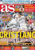 Portada diario AS del 11 de Mayo de 2011