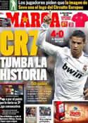 Portada diario Marca del 11 de Mayo de 2011