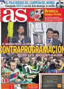 Portada diario AS del 12 de Mayo de 2011