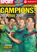 Portada diario Sport del 12 de Mayo de 2011