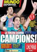 Portada Mundo Deportivo del 12 de Mayo de 2011