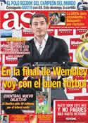 Portada diario AS del 13 de Mayo de 2011