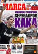 Portada diario Marca del 13 de Mayo de 2011