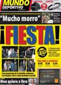 Portada Mundo Deportivo del 13 de Mayo de 2011
