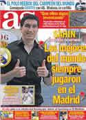 Portada diario AS del 14 de Mayo de 2011