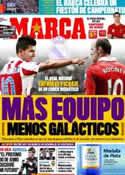 Portada diario Marca del 14 de Mayo de 2011