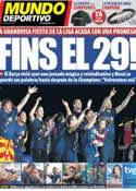 Portada Mundo Deportivo del 14 de Mayo de 2011