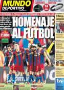 Portada Mundo Deportivo del 15 de Mayo de 2011