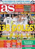 Portada diario AS del 16 de Mayo de 2011