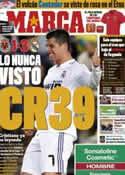 Portada diario Marca del 16 de Mayo de 2011